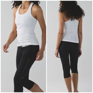 Lululemon Vent It Out Crop Size 2